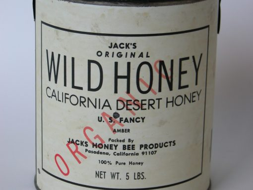 #310 California Wild Desert Honey