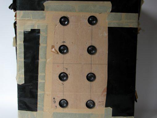 #23 Cardboard Box (8 lenses, pinhole, & iris diaphragm)