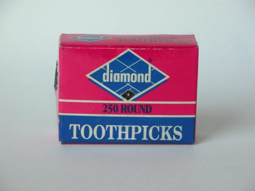 #579 Diamond Toothpicks, 250 round