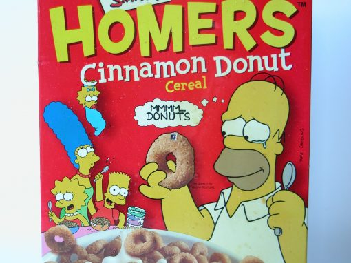 #498 Homer's Donut Cereal / Donuts #1