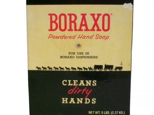 #68 Boraxo (large box) / Harmony Borax Ruins, Death Valley