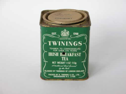 #162 TWINNINGS Irish Breakfast Tea / Morning Self Portrait