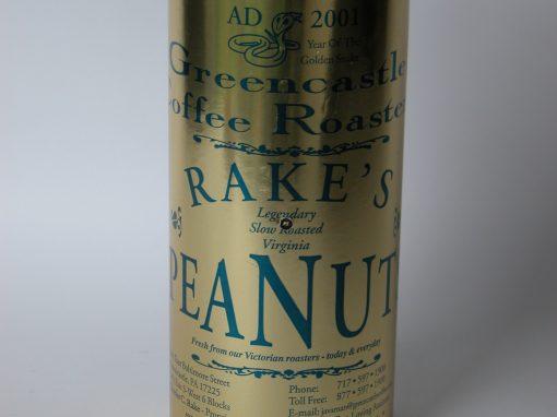 #153 Rakes Peanuts / Mound of Peanuts
