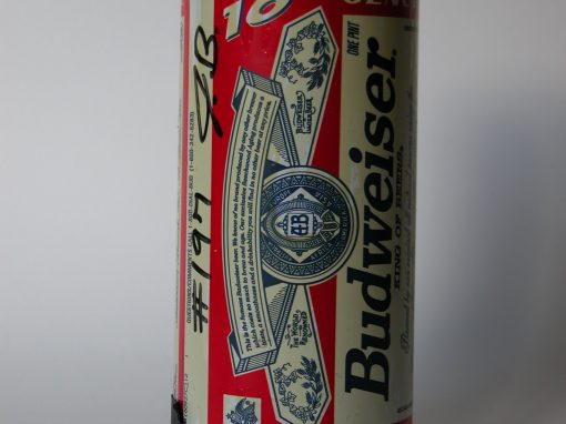 #197 12 oz. Budweiser #2 / Mug of Beer #2