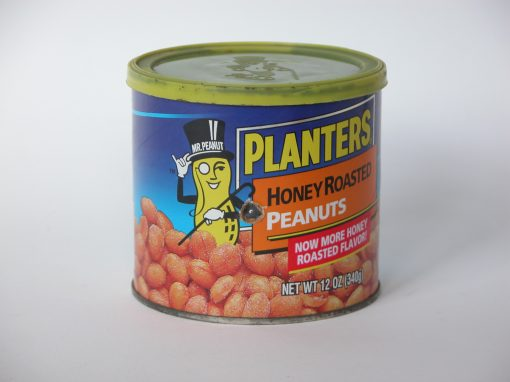 #386 Planter's Honey Roasted Peanuts #3 / Peanuts #3