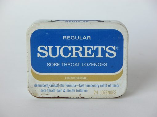 #606 SUCRETS #4, Sore Throat Lozenges
