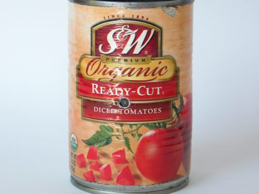 #236 S&W Organic Diced Tomatoes #2