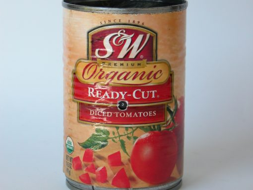 #237 S&W Organic Diced Tomatoes #3
