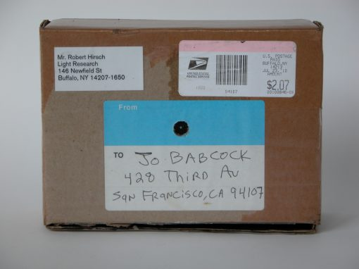 #702 Shipping Box from Robert Hirsch