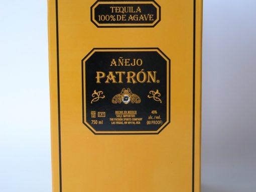 #470 Patron Anejo Tequilla #1 / Shotglass #2