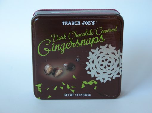 #627 TJ's Dark Chocolate Gingersnaps #1