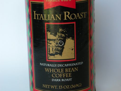 #621 TJ's Italian Roast Whole Bean Coffee, 13 oz.