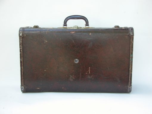 #148 Dark Brown Patterned Samsonite / The Armory, Syracuse, NY