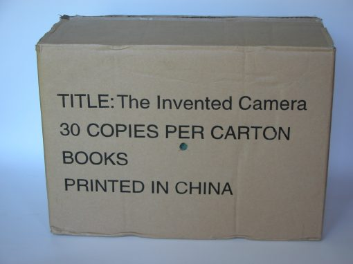 #758 The INVENTED CAMERA Shipping Box