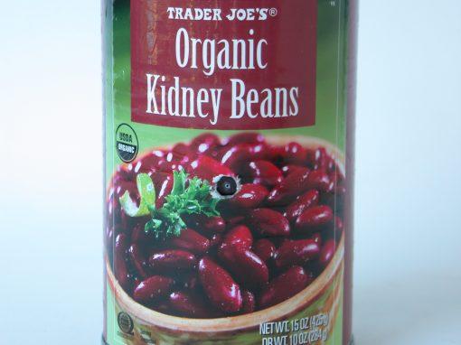 #558 Trader Joe's Organic Kidney Beans #7