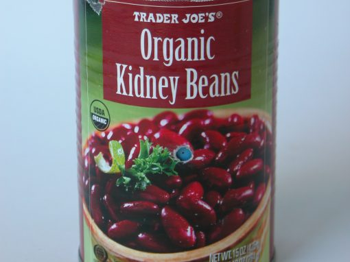 #561 Trader Joe's Organic Kidney Beans #8