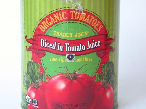 #554 Trader Joe's Organic Tomatoes #4