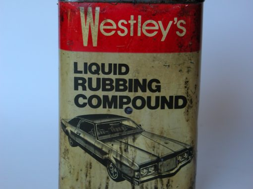 #637 Westley's Liquid Rubbing Compound