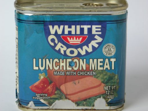 #656 White Crown Luncheon Meat