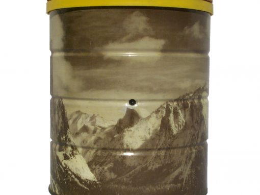 #95 Ansel Adams Coffee Can / Yosemite Valley