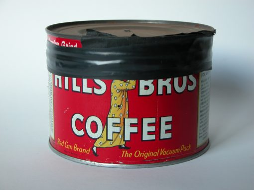 #47 Hills Brothers Coffee Can / (part A)