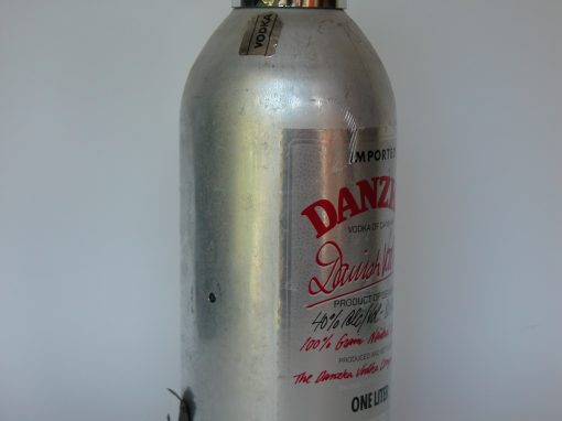 #151 DANZKA Danish Vodka /Federated Fry Metals