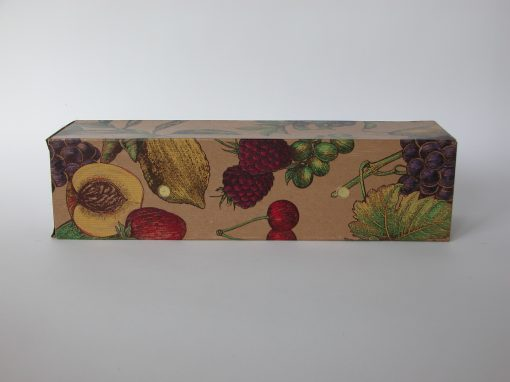 #744 Decorative Wine Gift Box (stereo, w/floral pattern)