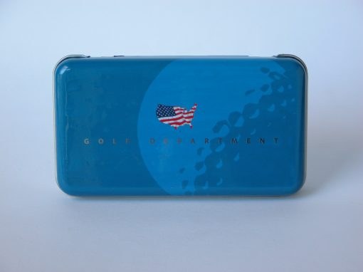#684 Golf Department #5 Blue w/American Flag (stereo)