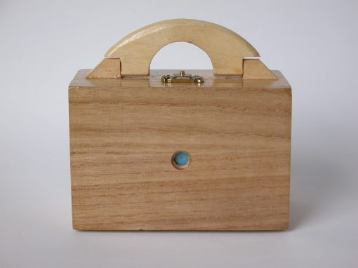 #585 Jointed, Wooden Box from Japan