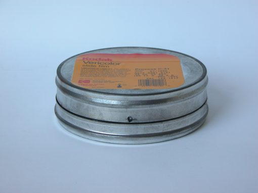 #397 Kodak Vericolor Slide Film Tin