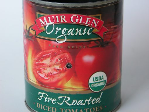#699 Muir Glen Diced Tomatoes #8
