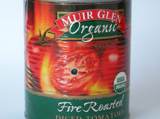 #232 Muir Glen Fire Roasted Sliced Tomatoes #2