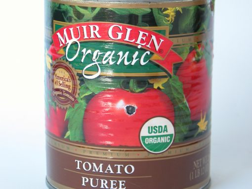 #234 Muir Glen Fire Roasted Sliced Tomatoes #4
