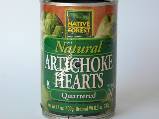 #241 Natural Artichoke Hearts