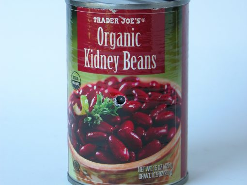 "#438 Organic Kidney Beans #5 (replaces original Tiger Balm, 2"" miniature lost in storage)"
