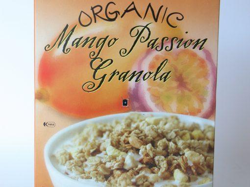 #508 Organic Mango Passion Granola