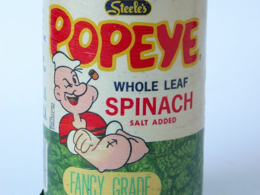 #269 Popeye Spinach (lg. can)