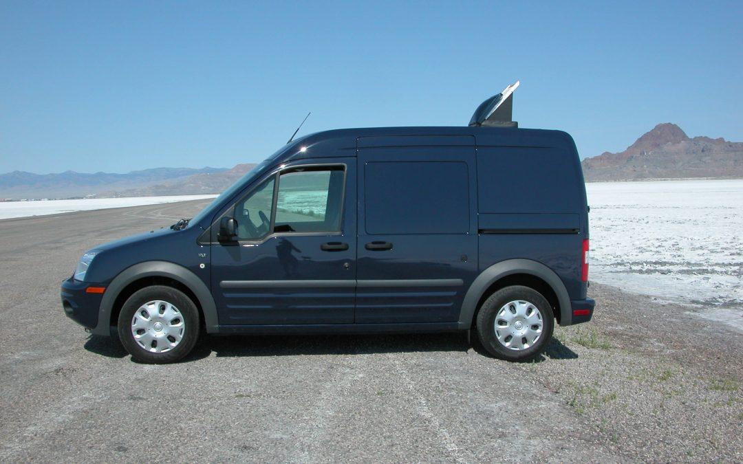 #1100 Ford Transit Van Camera