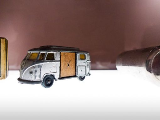 #340 Miniature VW Van Camera