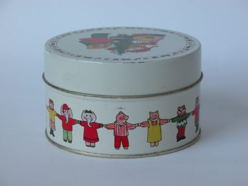 #541 Animals Unite, Christmas Tin, (Hands Across Hong Kong)