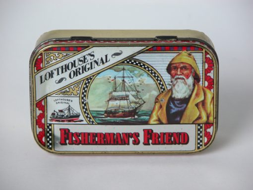"#704 Fisherman's Friend, 2""x4"" case (two pinholes)"