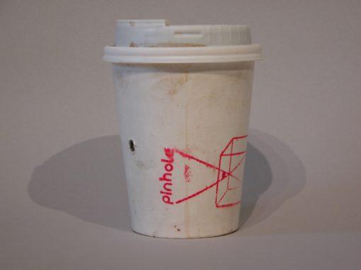 #728 Pinhole Coffee Cup #2